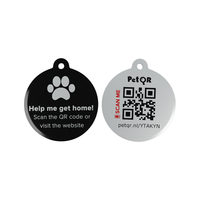 Pet QR Smart QR-tag for Cats & Dogs