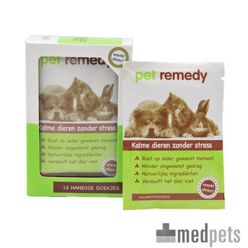 Product afbeelding van Pet Remedy Kalmerende Doekjes