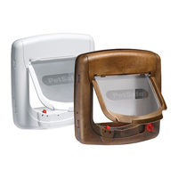 Petsafe Staywell Deluxe - Magnetic Cat Flap