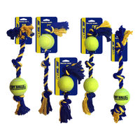 Petsport Knot Cotton Rope with Tuff Ball