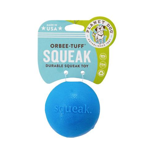 Planet Dog Orbee Tuff Squeak Ball - Blau