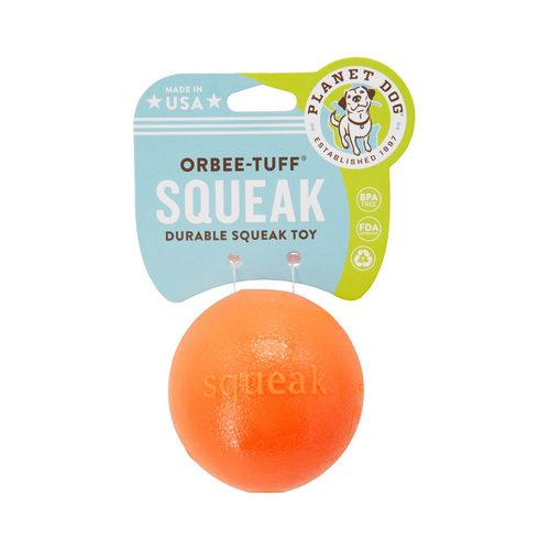 Planet Dog Orbee Tuff Squeak Ball - Orange