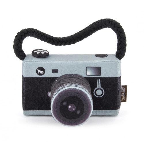 P.L.A.Y. Pet Globetrotter Pluche - Camera