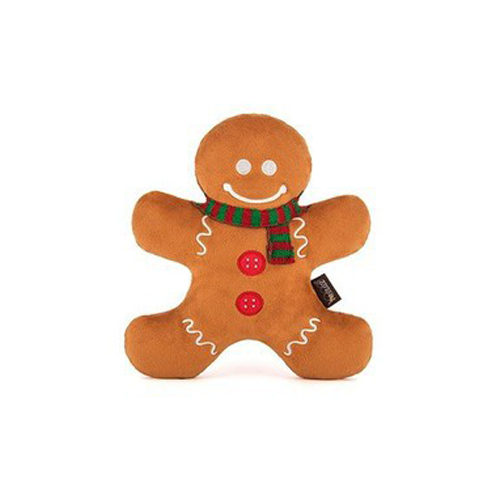 P.L.A.Y. Pet Holiday Classic Pluche - Gingerbread Man