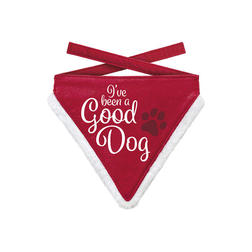 Plenty Gifts - Weihnachtsbandana Good Dog