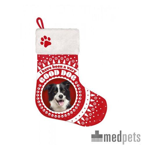 Product afbeelding van Plenty Gifts - Kerstsok Border Collie