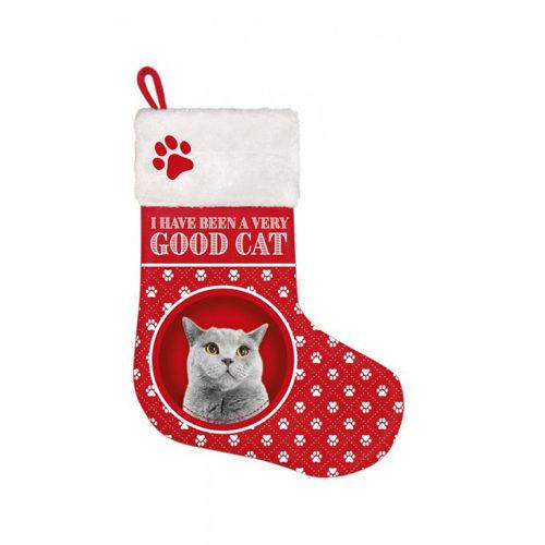 Plenty Gifts - Weihnachtsstrumpf British Shorthair