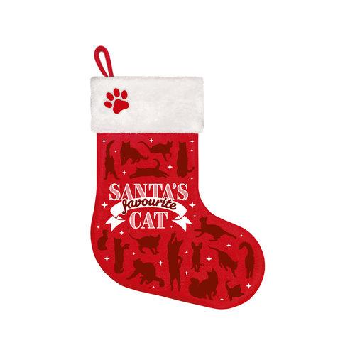 Plenty Gifts - Kerstsok Favourite Cat