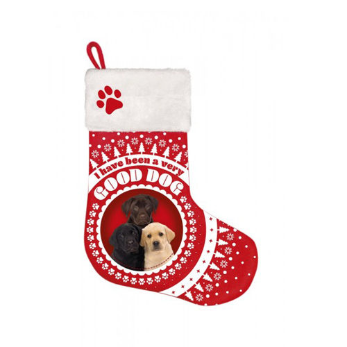 Plenty Gifts - Kerstsok Labrador Pups