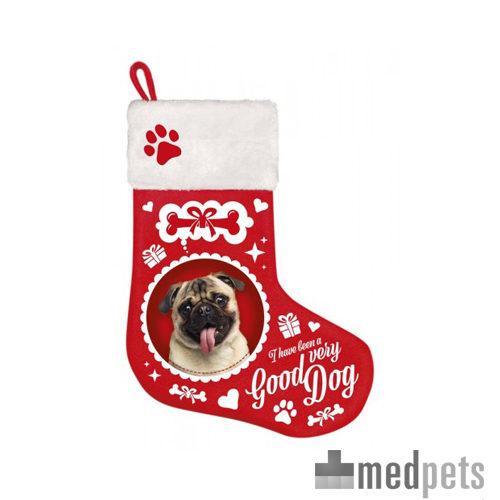 Product afbeelding van Plenty Gifts - Kerstsok Pug
