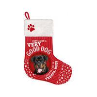 Plenty Gifts - Kerstsok Rottweiler