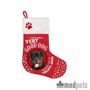 Product afbeelding van Plenty Gifts - Kerstsok Rottweiler