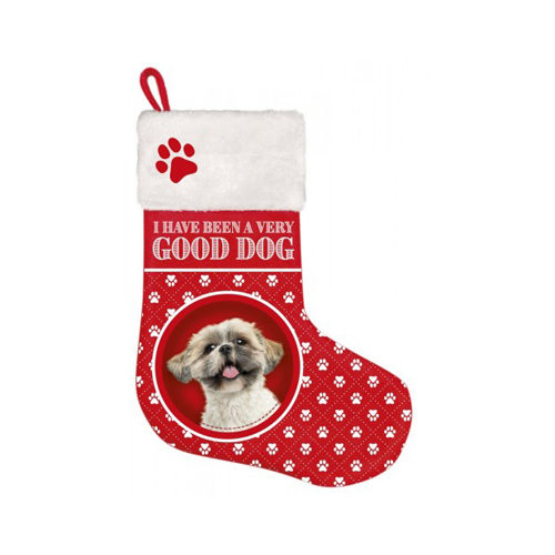 Plenty Gifts - Weihnachtssocken Shih Tzu