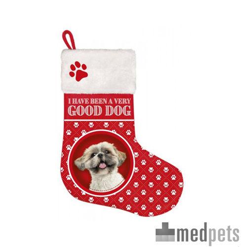 Product afbeelding van Plenty Gifts - Kerstsok Shih Tzu