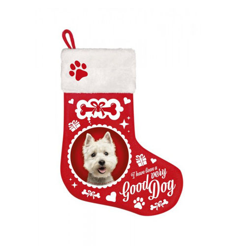 Plenty Gifts - Weihnachtssocken Westie