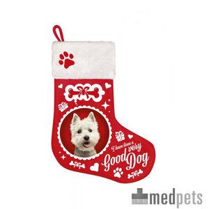 Product afbeelding van Plenty Gifts - Kerstsok Westie