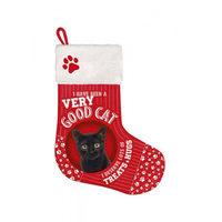 Plenty Gifts - Chaussette de Noël Chat noir