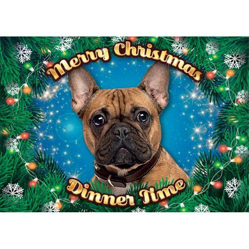 Plenty Gifts - Xmas Placemat Französische Bulldogge