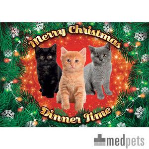 Product afbeelding van Plenty Gifts - Xmas Placemat Kittens