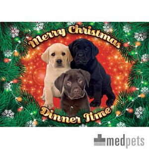 Product afbeelding van Plenty Gifts - Xmas Placemat Labrador Pups