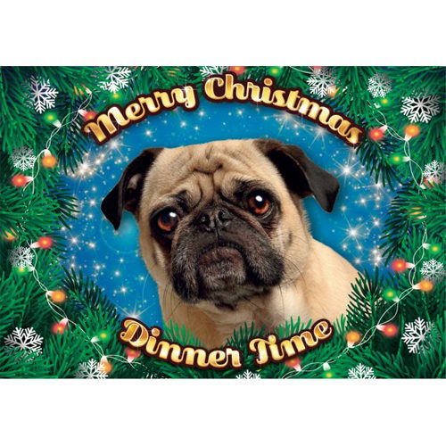 Plenty Gifts - Xmas Placemat Mopshond