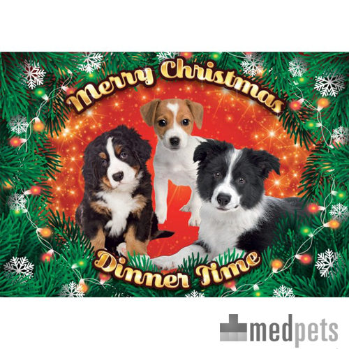 Product afbeelding van Plenty Gifts - Xmas Placemat Puppy's