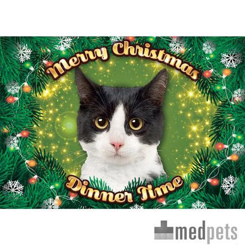 Product afbeelding van Plenty Gifts - Xmas Placemat Zwart Witte Kat