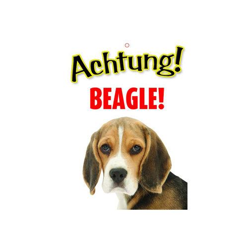 Plenty Gifts Warnzeichen - Beagle