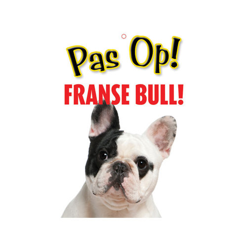 Plenty Gifts Waakbord - Franse Bulldog