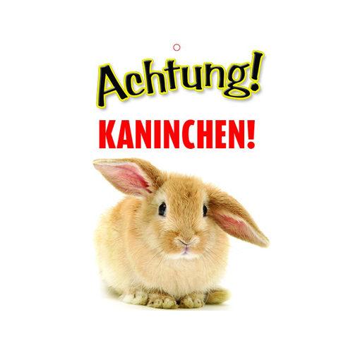 Plenty Gifts Warnschild - Kaninchen