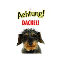 Plenty Gifts Warnzeichen - Dackel
