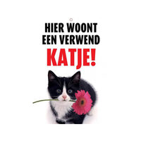 Plenty Gifts Waakbord - Verwend Katje