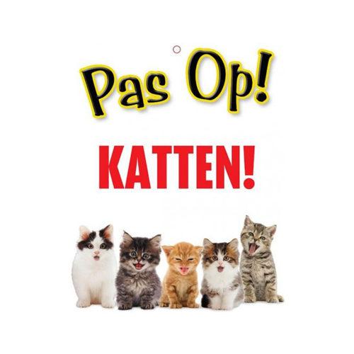 Plenty Gifts Waakbord Katten