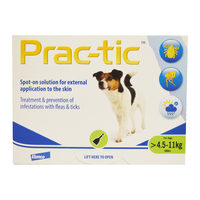 Prac-tic Spot-on Small Dogs
