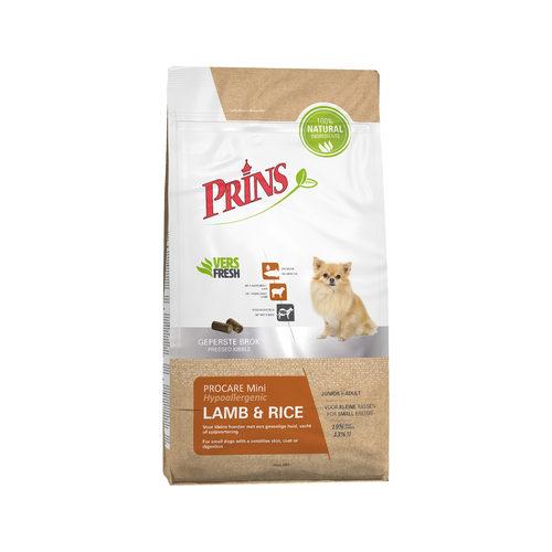 Prins ProCare Mini Lamb & Rice Hypoallergenic