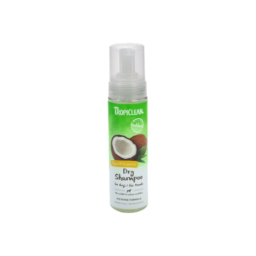TropiClean - Hypoallergenic Dry Shampoo for Dogs
