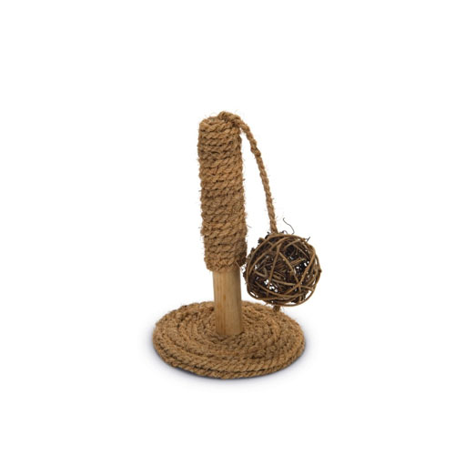 Beeztees Coconut Rope Toy Pole
