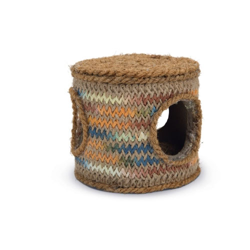 Beeztees Coconut Rope Toy Barrel