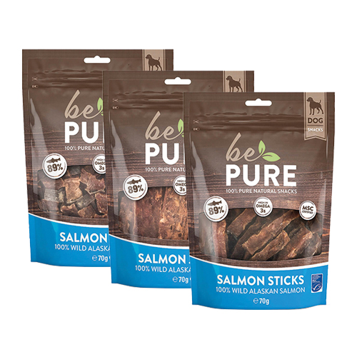 Be Pure Dog Salmon Snacks