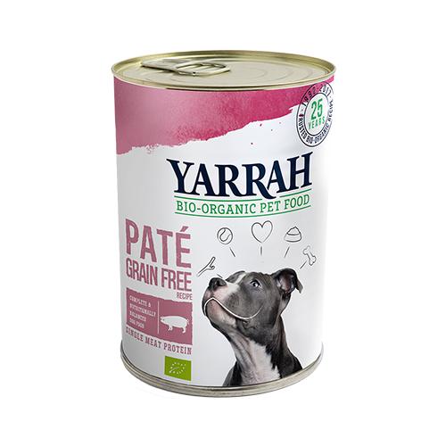 Yarrah - Bio Paté für Hunde mit Schwein