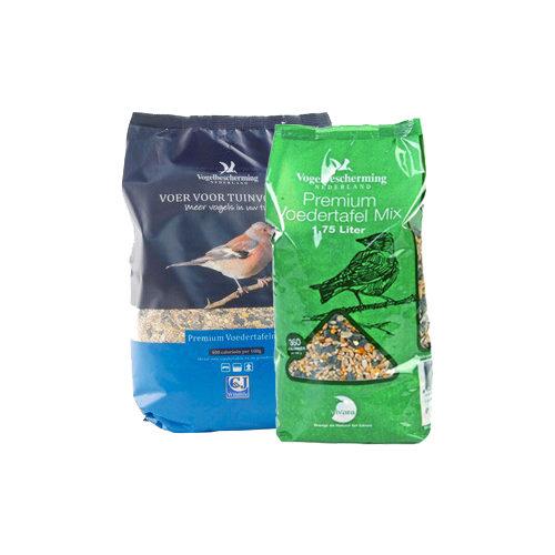 Vogelbescherming Voedertafel Mix