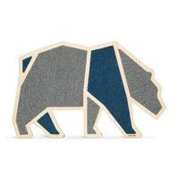 Beeztees Wooden Cat Scratcher Blue Bear