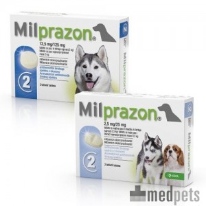 Product afbeelding van Milprazon Hond