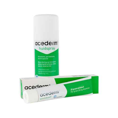 Acederm Wound Ointment and Spray