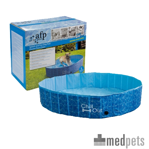Afp chill out splash and fun dog pool hondenzwembad for Pool bestellen