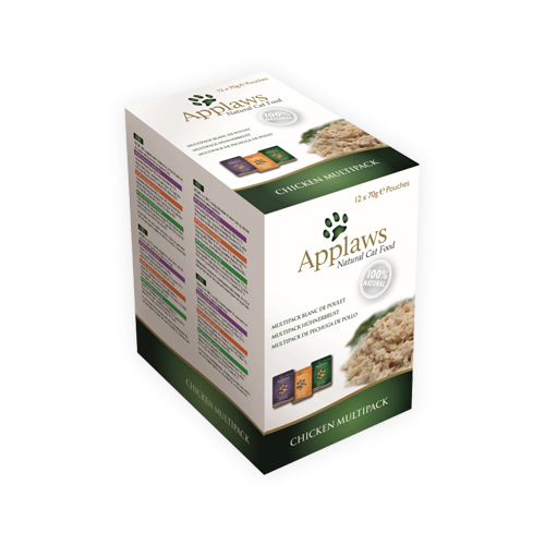 Applaws Cat Food - Chicken in Broth Multipack