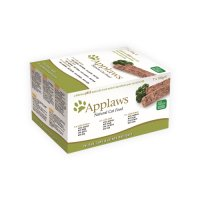 Applaws Cat - Paté with Chicken, Lamb & Salmon Multipack