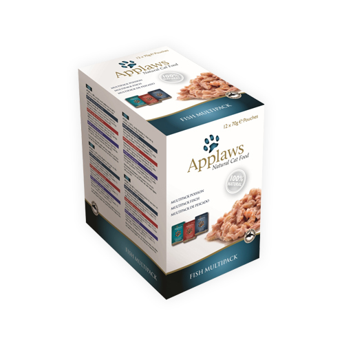 Applaws Cat Food - Fish in Broth Multipack