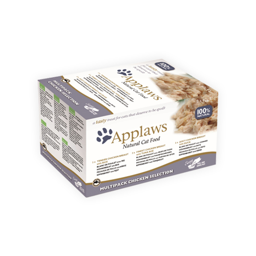 Applaws Cat Food -Multipack Chicken Selection Pots
