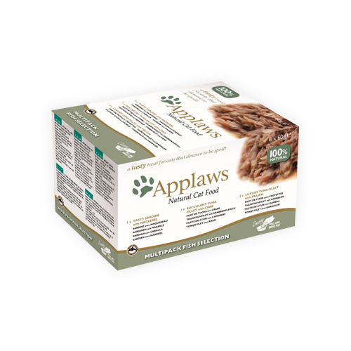 Applaws Cat - Multipack Fish Selection Pots